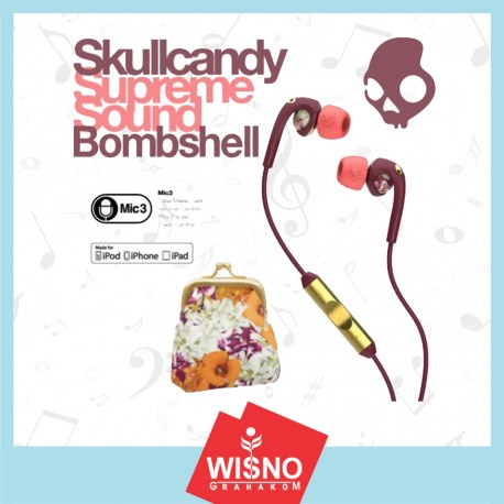 Skullcandy Bombshell Earbuds with Mic