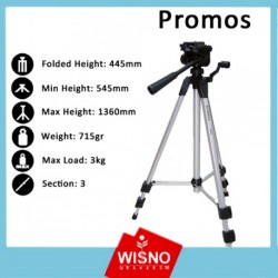 TRIPOD KAMERA EXCELL PROMOS STANDART
