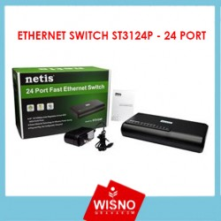 ETHERNET SWITCH ST3124P - 24 PORT
