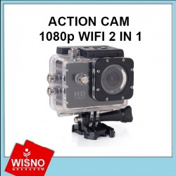 ACTION CAM 1080p WIFI 2 IN 1